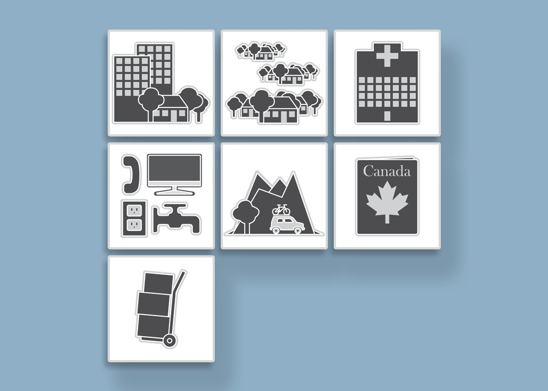 An Icon Set For Use in Various Documents