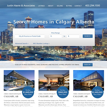 Online Projects with Justin Havre & Associates Page